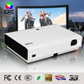 Golden china tv games projector , blue film video home theater beamer for government tender