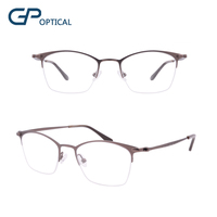 GP1800 Fashion Half Rim Glasses OEM