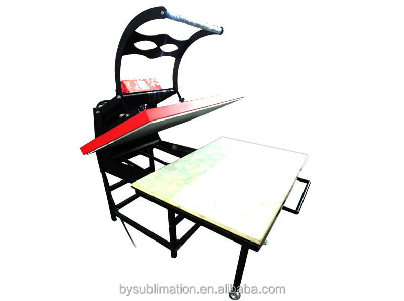Powerful model 70x100cm High Pressure large manual heat press for T-shirt