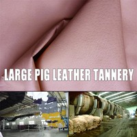 various grain footwear lining pigskin leather raw material for shoe