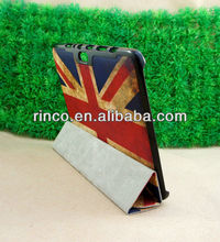 "Retro UK Flag Stand Leather Case for Samsung Galaxy Note 10.1"" N8000 Case"