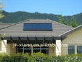 Inclined Roof Solar Collector System/Pressrized