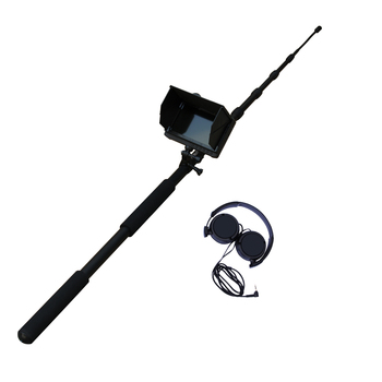 Extendable 5m telescopic pole Audio&Video 1080P HD digital life detector