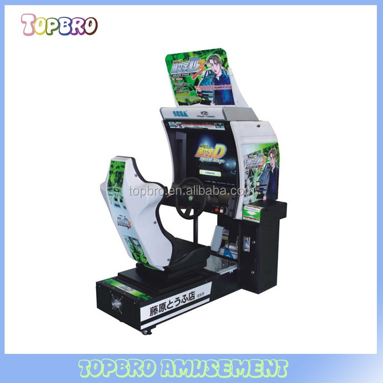 car racing machine two player arcade game machine Initial D 3