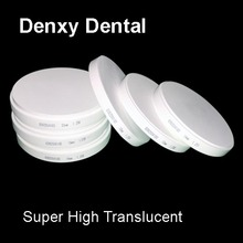 Super high translucent Dental Zirconia ceramic Block