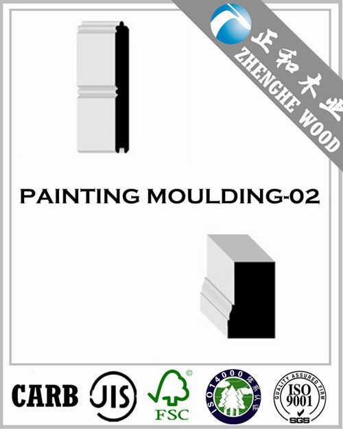 White Surface Moulding
