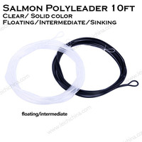 2016 new design salmon polyleader 10ft fly fishing line