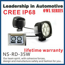 GOOD NEWS!2015 CREE IP68 lifetime warranty 35W 9-32v LED light bar
