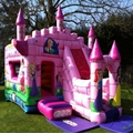 Pink inflatable bouncer for adult/adult bouncy castle