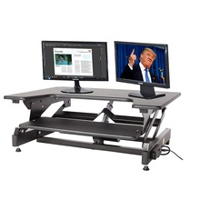 STARSDOVE Portable cheap Folding adjustable large laptop office computer standing sit stand desk for sale