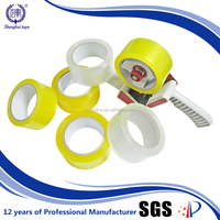 Factory price 45u closing carton box clear bopp packing tape
