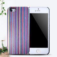 Mobile phone case PC wood case for iphone 5,cheap wooden case