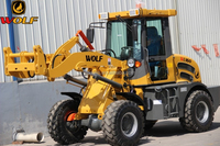 WOLF wheelloader ZL16 mini front end loader