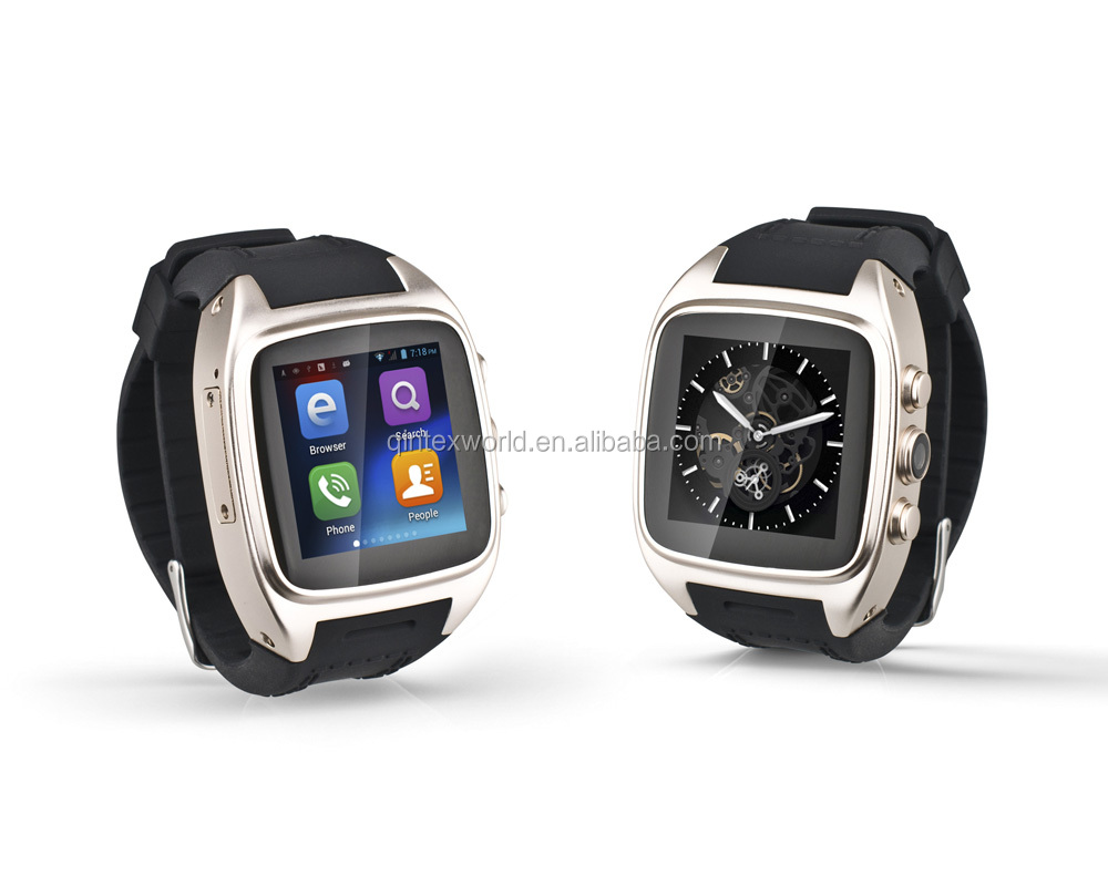 Original Touch Screen Smart watch Dustproof Waterproof Smart Phone Watch WIFI 3G Cheap Smar Watch Cell Phone