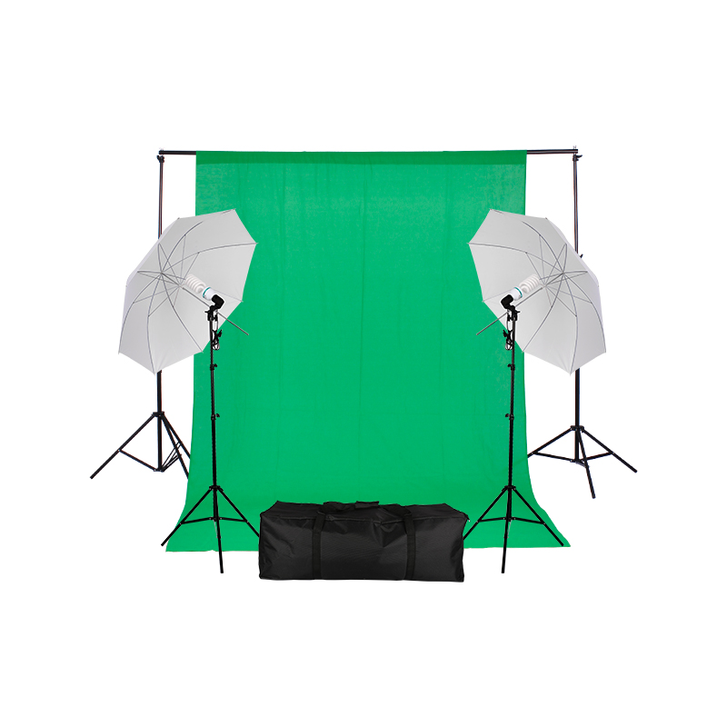 Amazon Ebay popular Photo Studio Umbrella Photography Light Backdrop Kit Set