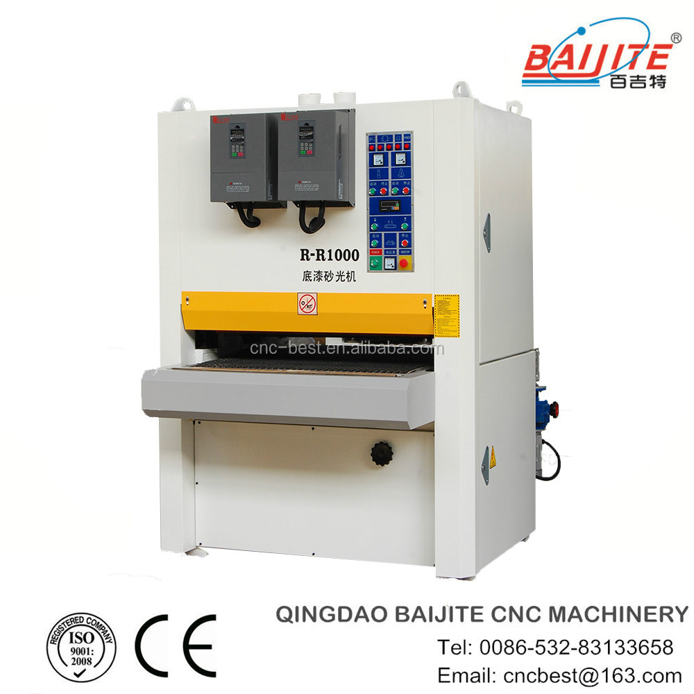 wood sanding machine with two unit factory price high precision CE&ISO9001