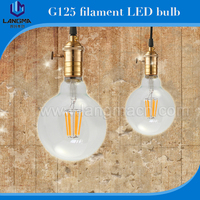 360 degree filament g95 bulb, 4w/6w led filament g95, RoHS dimmable g95 led for home/hotel/hall