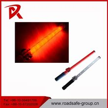 High light rechargeable 43cm Led Whistle torch traffic police baton