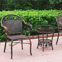 Plastic materials for weaving outdoor chairs