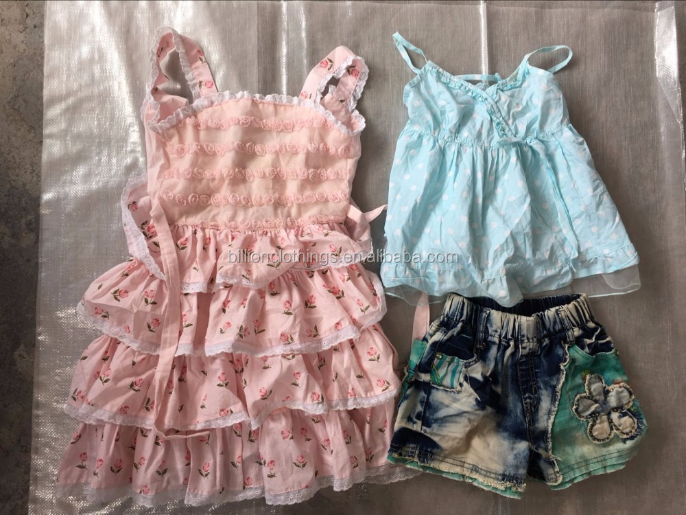 Used summer clothing best qaulity factory supply wholesale Children clothes