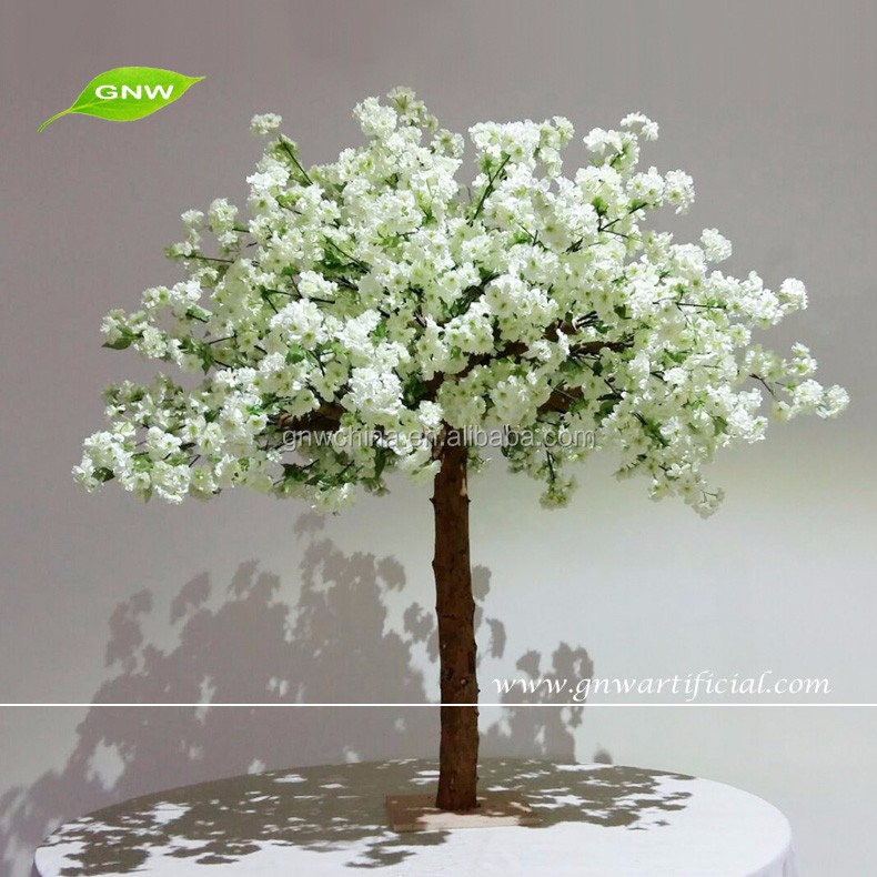 CTR1605009-A 2015 hot sale white cherry blossom tree wedding decoration centerpieces