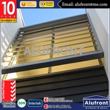 High quality aluminum louver for ventilation and sun control