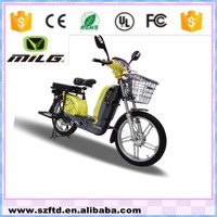 Pedaled electric motorbike with 60V lead - acid battery ( BLW - IV )