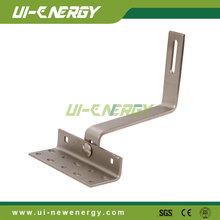 Solar mounting components aluminum tile roof hooks