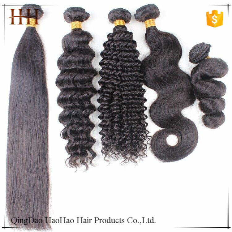 High quality all kinds of the human brazilian hair styles pictures