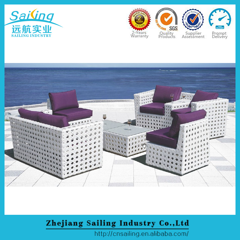 Sailing all weather outdoor pvc wicker heb patio pool furniture