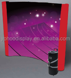 Professional factory custom size spring Popup Display Stand