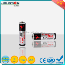 Cheap 1.5v AA UM3 R6P Dry battery factory
