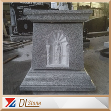 G603 Grey Granite Memorial Stone Design