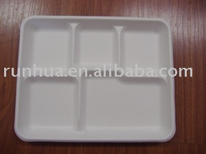 5 COMPARTMENTS LUNCH TRAY