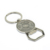 Promotional sublimation plain blank zinc alloy metal 50 years calendar bottle opener key ring bottle opener key ring