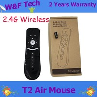 2015 Best Sell T2 Air Mouse/Keyboard/Remote Controller For Android TV Box Samrt Remote Wireless Air Mouse with usb receiver