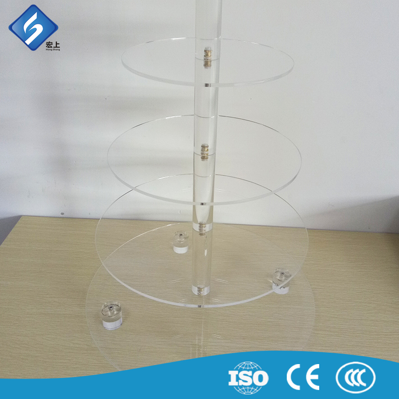 Custom made cake stand white crystal china supplier