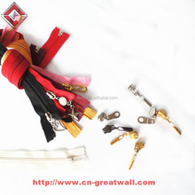 Fancy zipper puller, metal zipper, nylon zipper & slider accessory