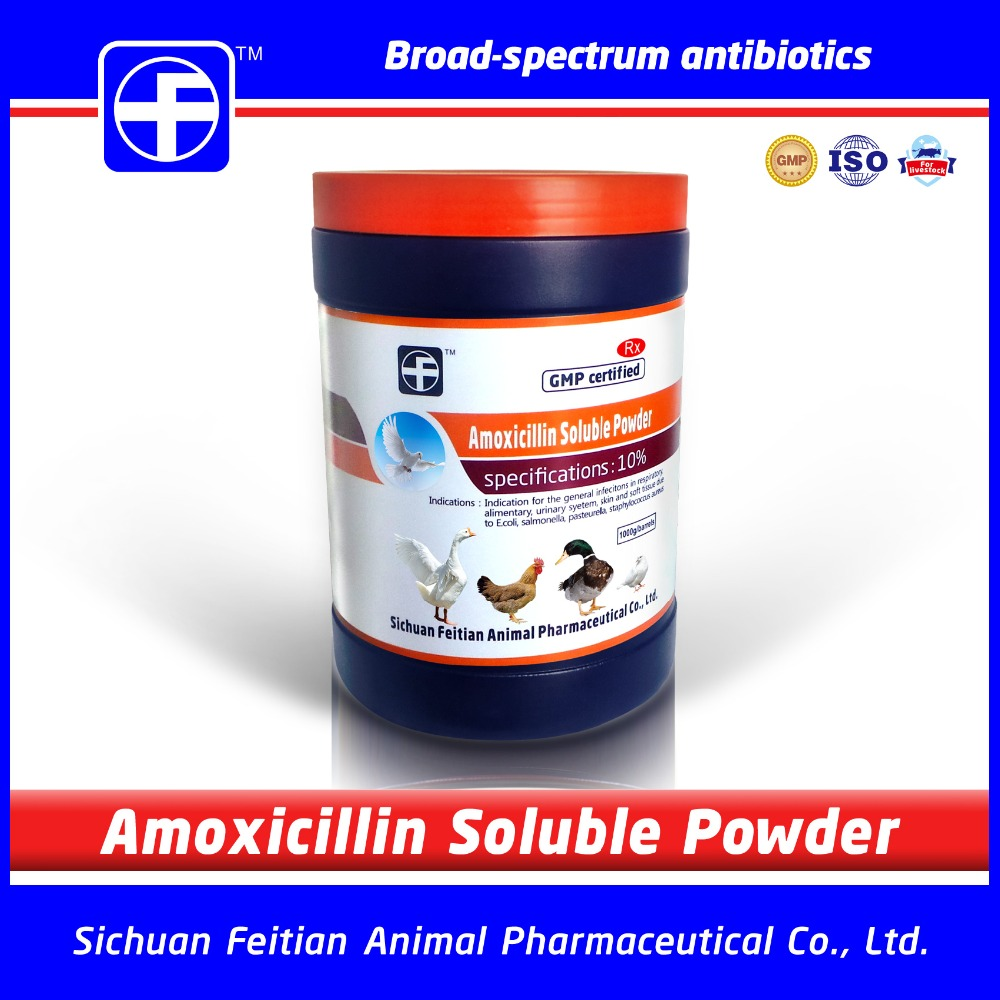 Amoxicillin Poultry antibiotics for chickens duck cats / Fish antibiotics horse antibiotics