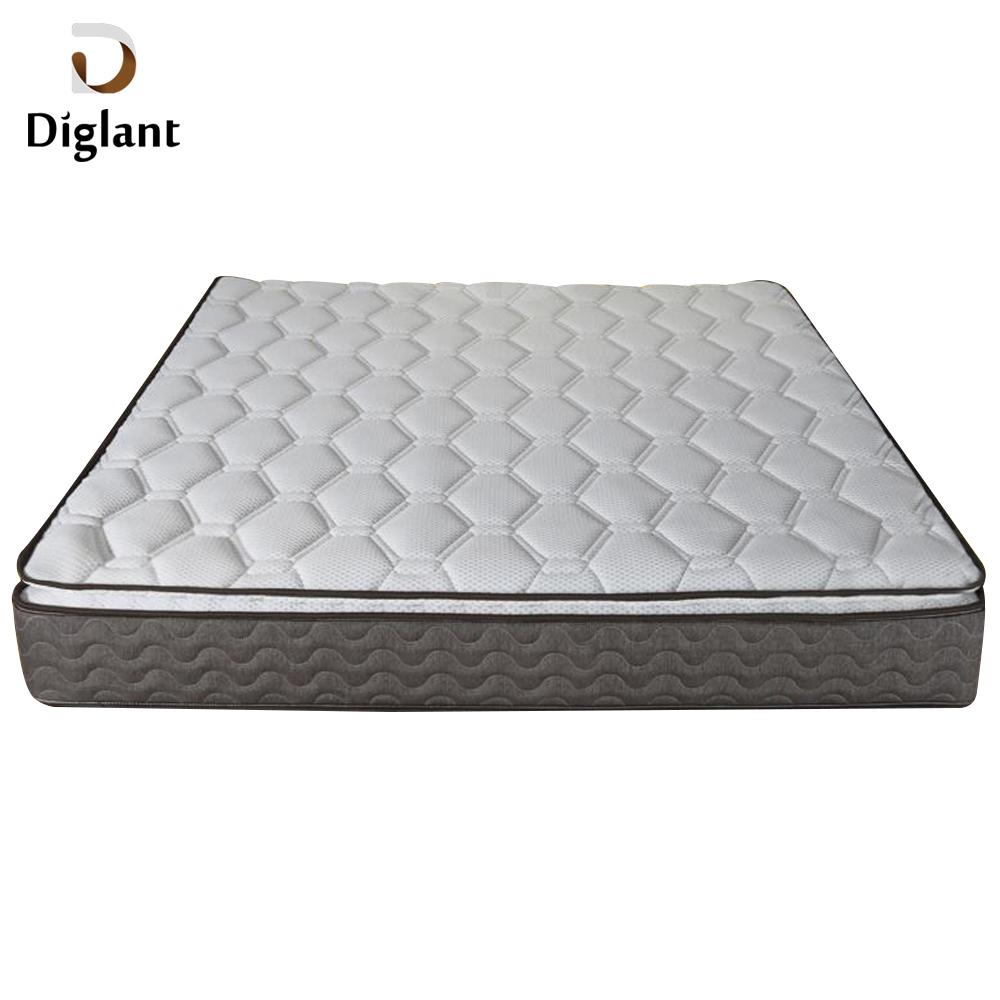 DM047 Diglant Gel Memory Latest Double Fabric Foldable King Size Bed Pocket bedroom furniture bonded foam mattress - Jozy Mattress | Jozy.net