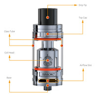 Top Quality pyrex glass Huge Airflow SMOK TFV8 Tank E Cigarette