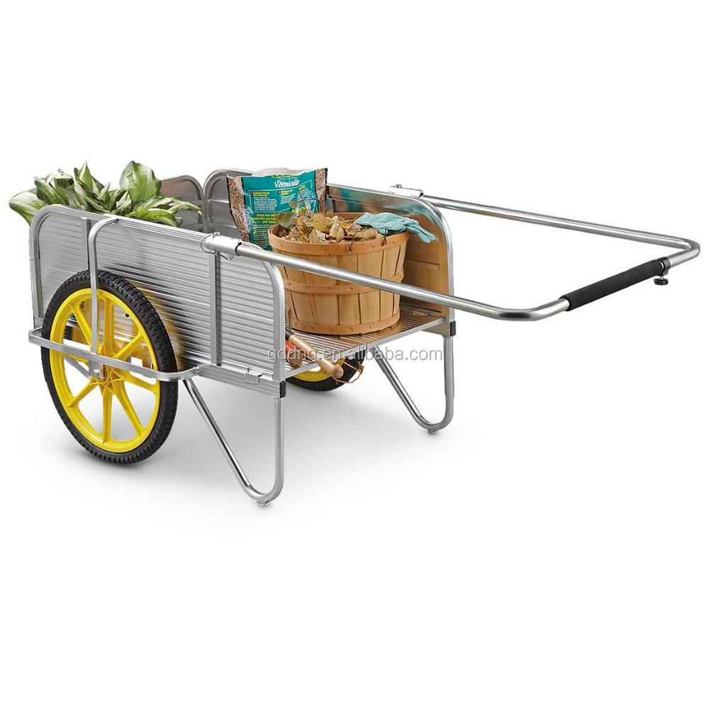Aluminium Garden Cart Folding Hand Cart Collapsible Aluminium Hand Cart