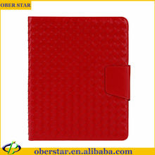 Tablet Accessories W allet Cover For iPad 2 3 4 Weave Leather Case