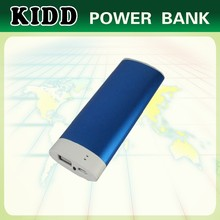 OEM customized portable mobile power bank 3000mah with LED light for smartphone