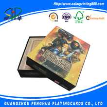 Custom printing play game cards