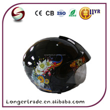 China ABS DOT half face safe motorcycle helmet 2017 hot sale helmet