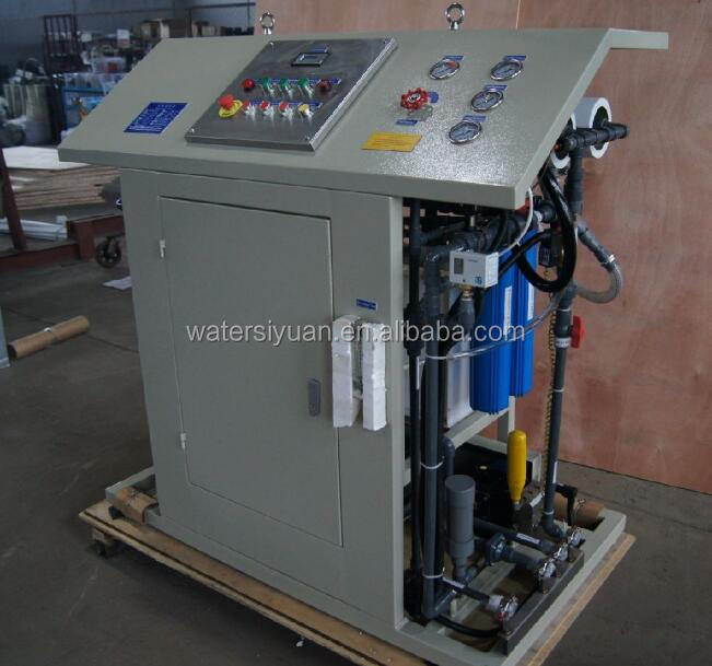 Marine Seawater Desalination Equipment design for boat