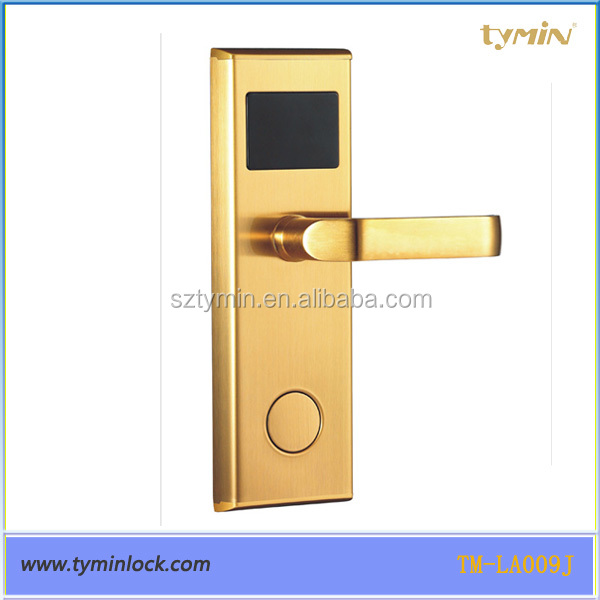 European standard intelligent card inductive lock europa for hotel room