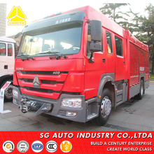 Selected sinotruk howo new sale fire engine truck 6 wheeler