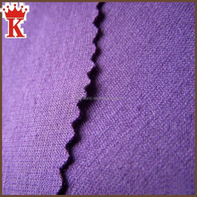 China supplier wholesale double interlock plain dyed or printed ponte de roma knit jersey fabric rayon nylon punto roma fabric